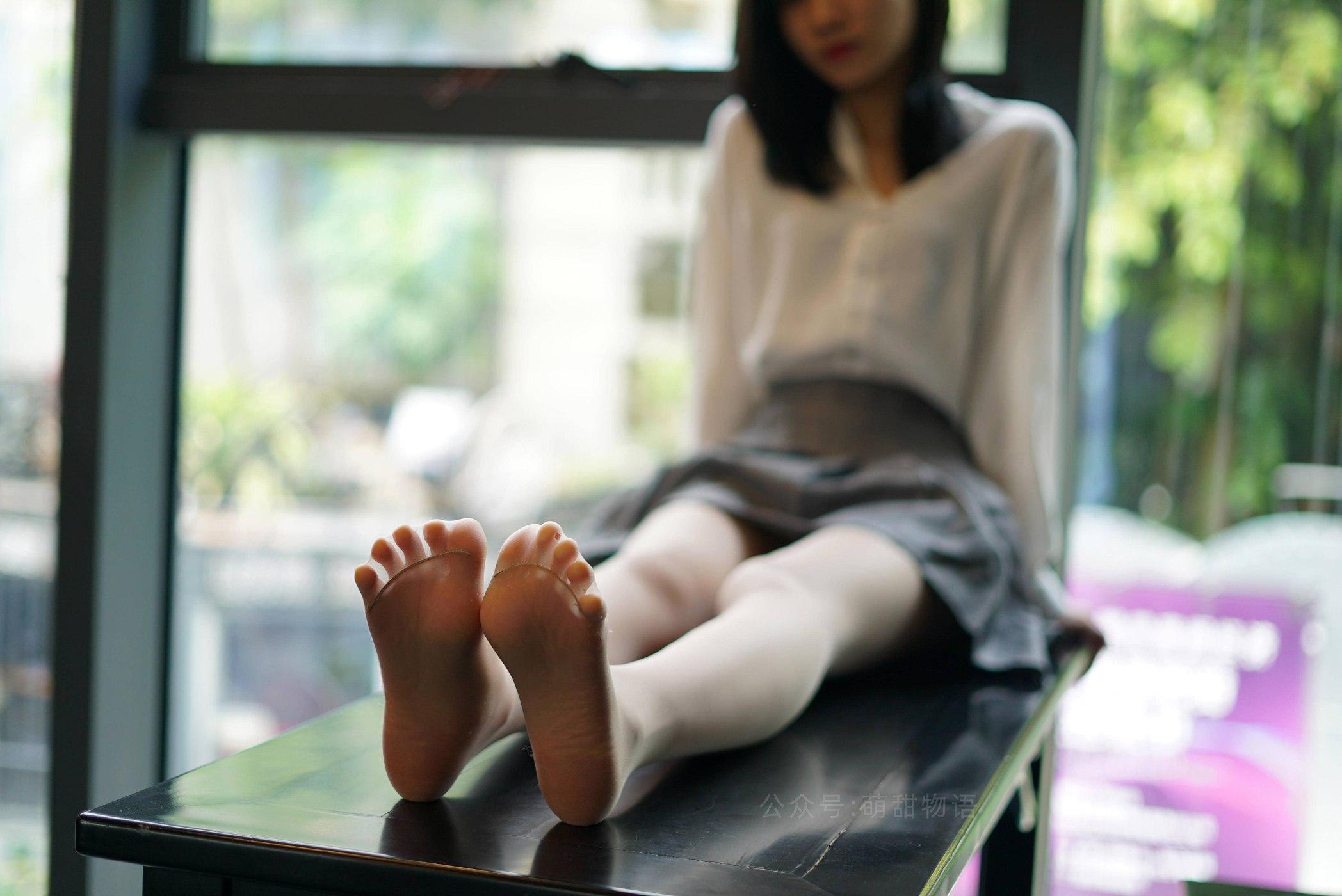 [萌甜物语]XM118《慵懒的衬衣-腿腿》[101P]