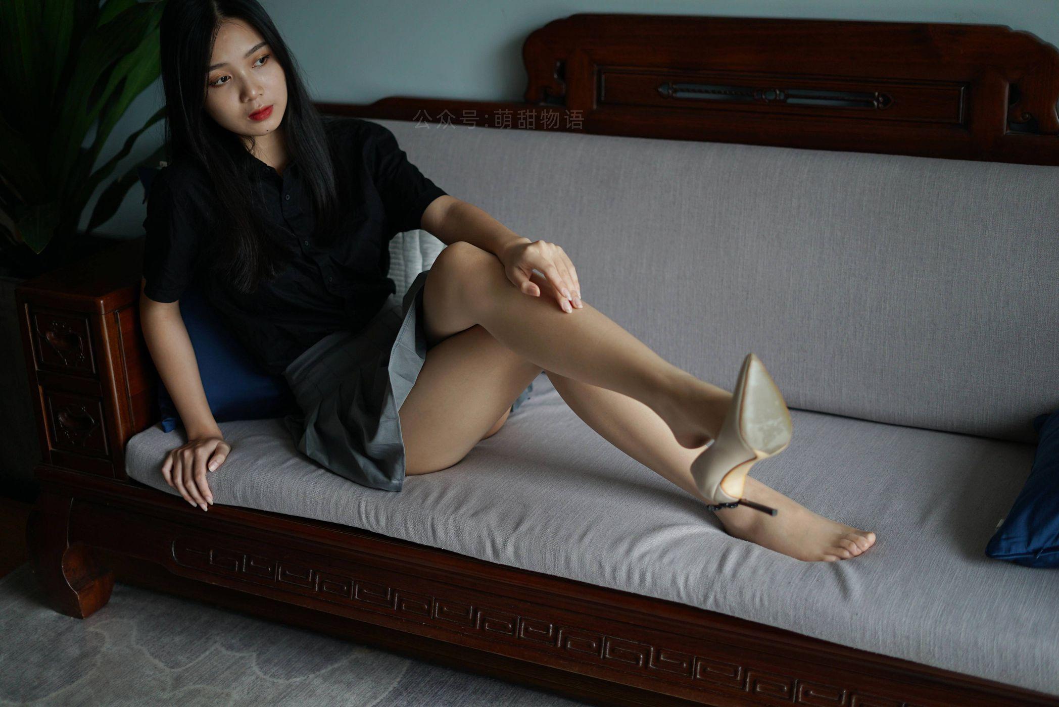 [萌甜物语]XM121《短裙黑衬衣-小苏》[96P]