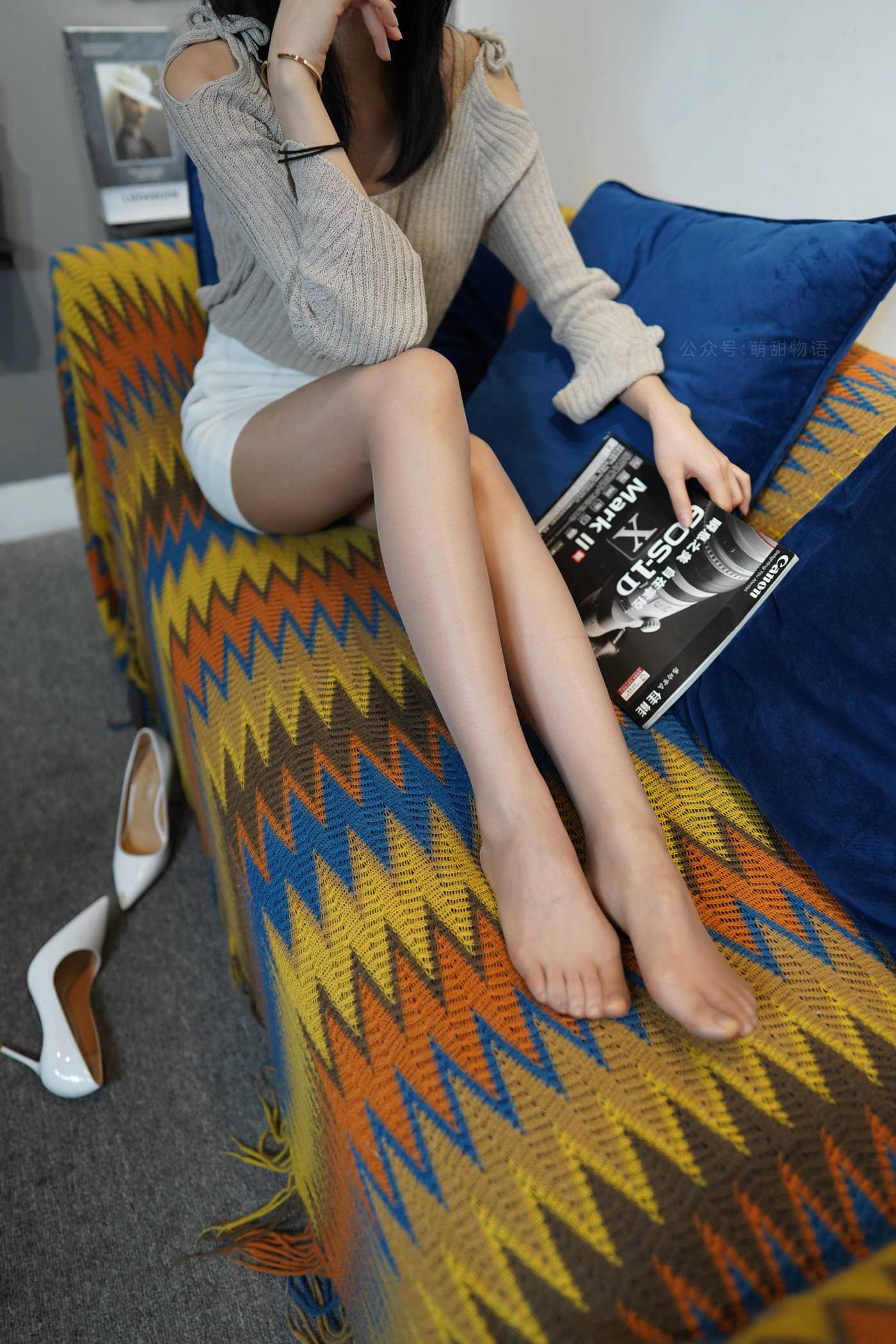 [萌甜物语]XM125《文静阅读装-腿腿》[89P]